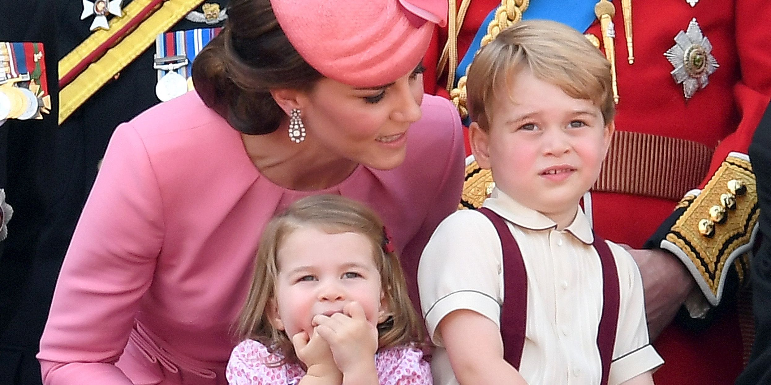 Prince George and Princess Charlotte Attended the Queen's Birthday, and the Twitter Reactions Are Perfect
