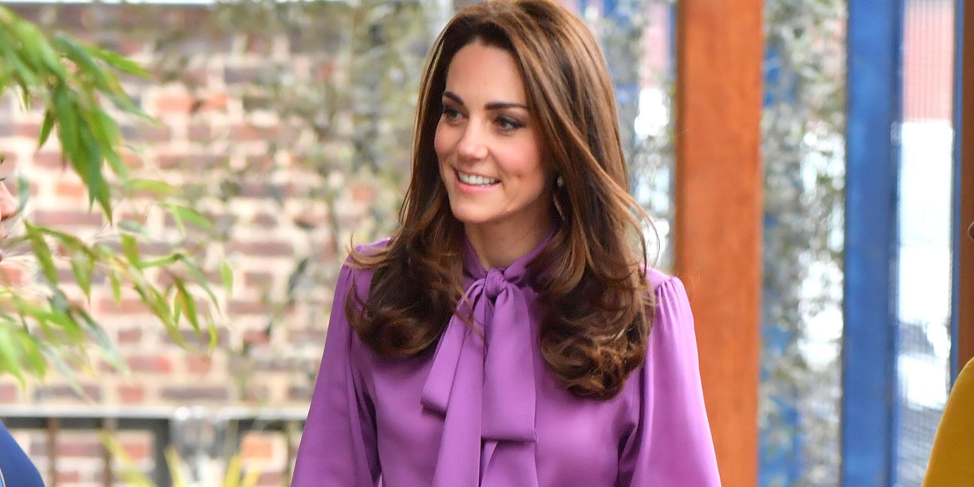 Kate Middleton visits children's centre in London