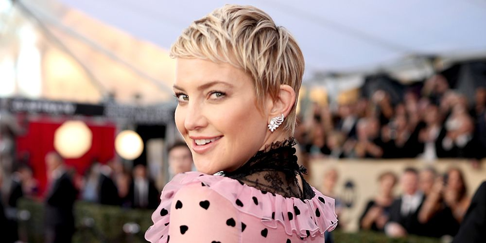 Kate Hudson The Shaved Head Was Awesome