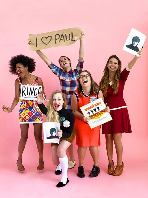 16 Diy Group Halloween Costumes 2020 Best Costumes For Friends