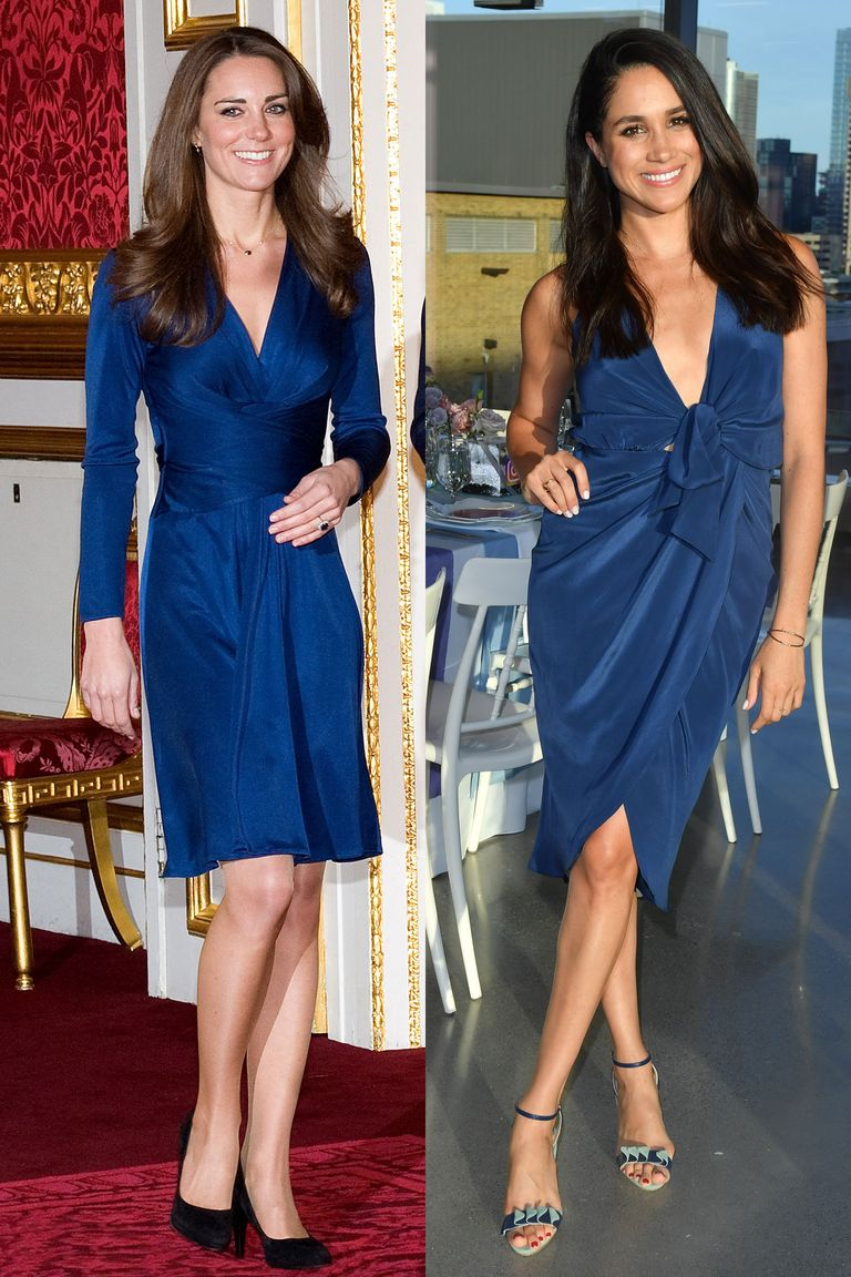 Meghan Markle and Kate Middleton Are Fashion Twins - Kate and Meghan ...