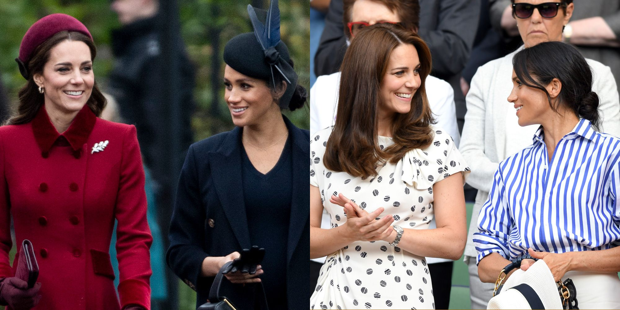 Every Photo of Kate Middleton and Meghan Markle That Disproves Those Feud Rumors