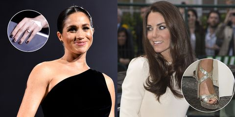Are Meghan Markle and Kate Middleton Really Breaking Protocol When They Wear Dark Nail Polish?