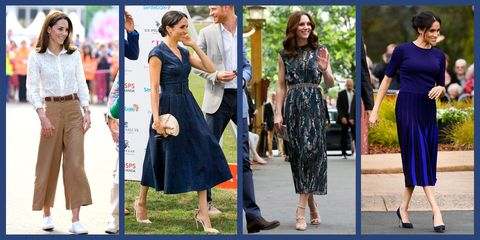 36ef70903f02 Kate Middleton & Meghan Markle Summer Outfits - Royal Style Inspiration
