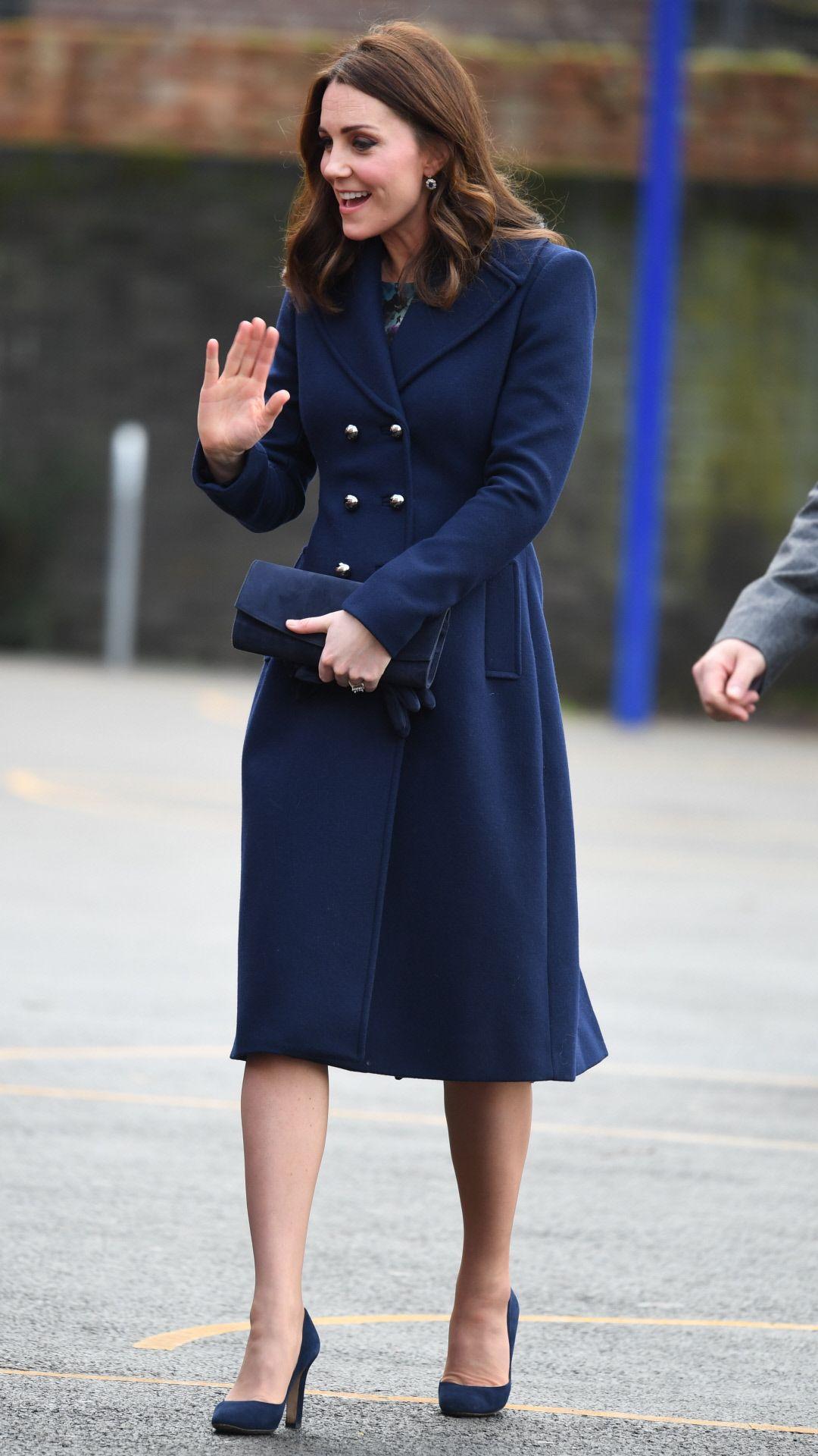 Los 'looks' premamá del tercer embarazo de Kate Middleton
