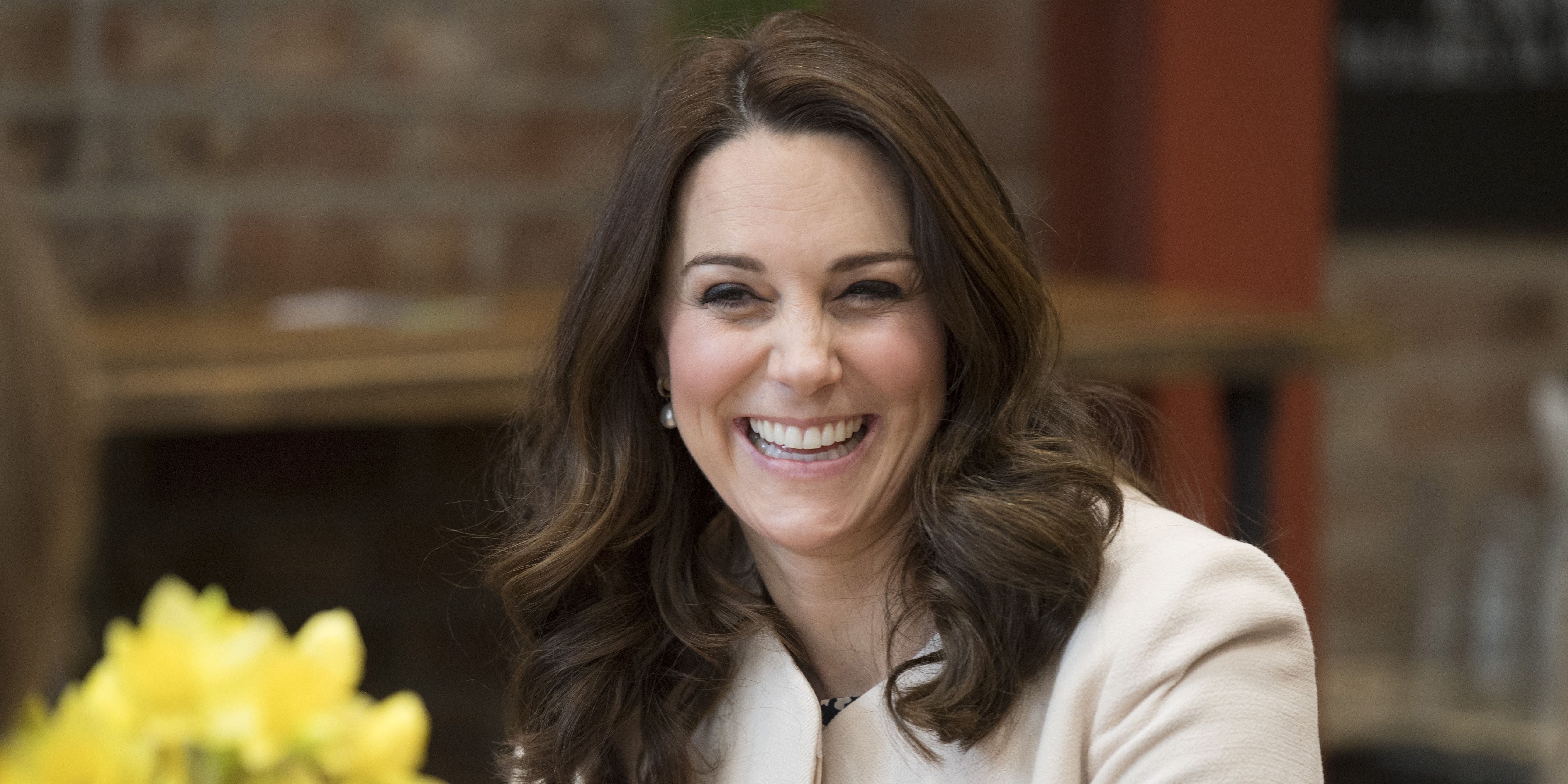 Kate Middleton in labor