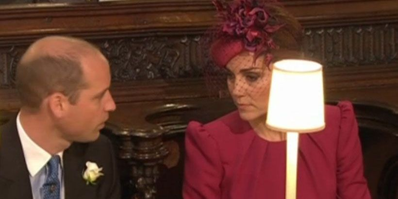 Kate Middleton Wears a Pink Alexander McQueen Dress to Princess Eugenie's Royal Wedding