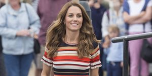 kate middleton royal sportieve look The King's Cup Regatta