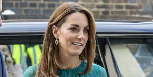 Kate Middleton con vestido verde aguamarina de ARoss Girl