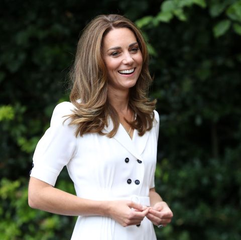 kate middleton wows in white summer dress as launches children's initiative