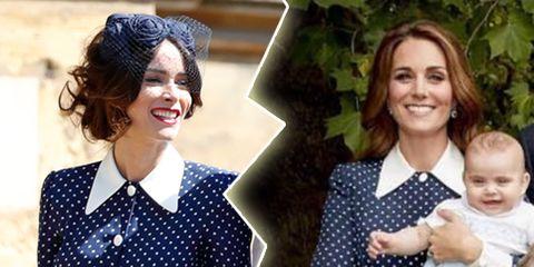 Kate Middleton, versus, Abigail Spencer, who wore it better, polkadotjurk, Alessadra Rich