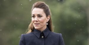 Kate Middleton con look de Alexander McQueen