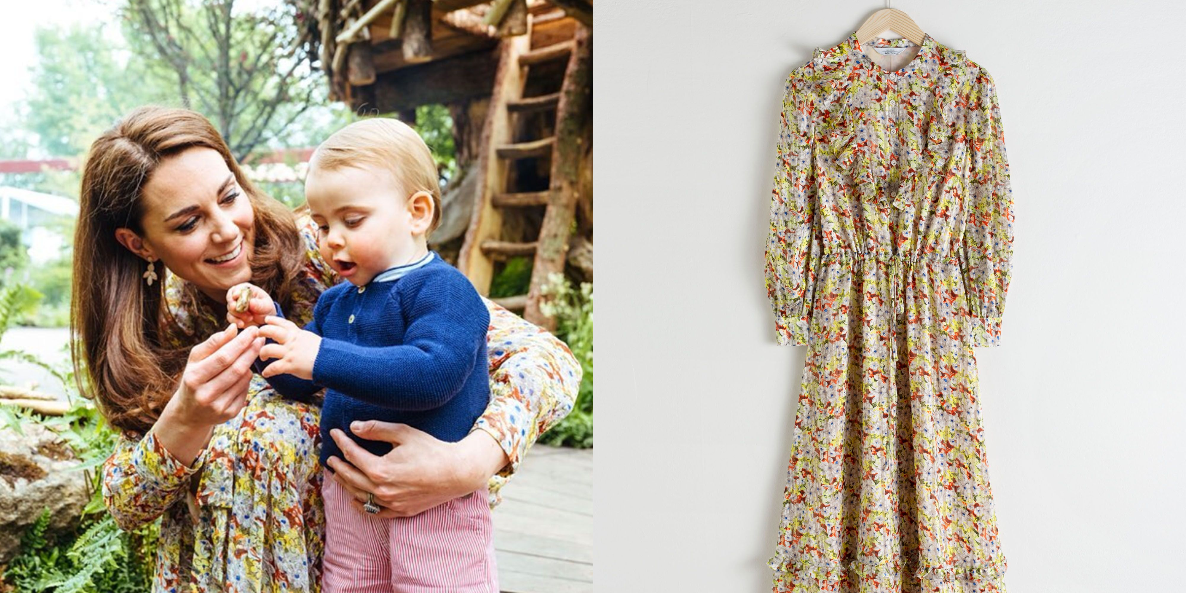 03385d081d Kate Middleton's $130 & Other Stories Dress Is Back in Stock