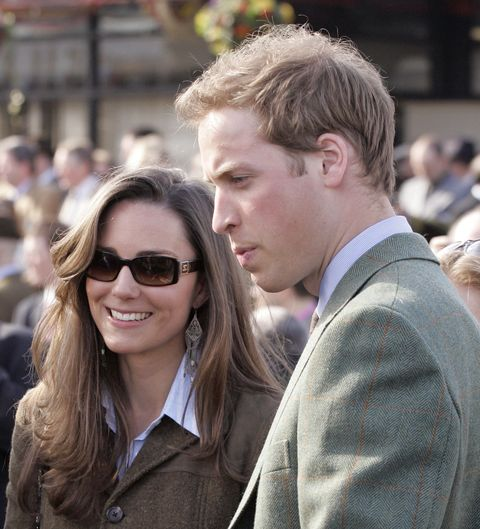 prince william and kate middleton attend day 1 of the cheltenham horse racing festival