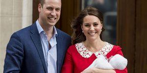 Kate Middleton, Prins William, Prins Louis