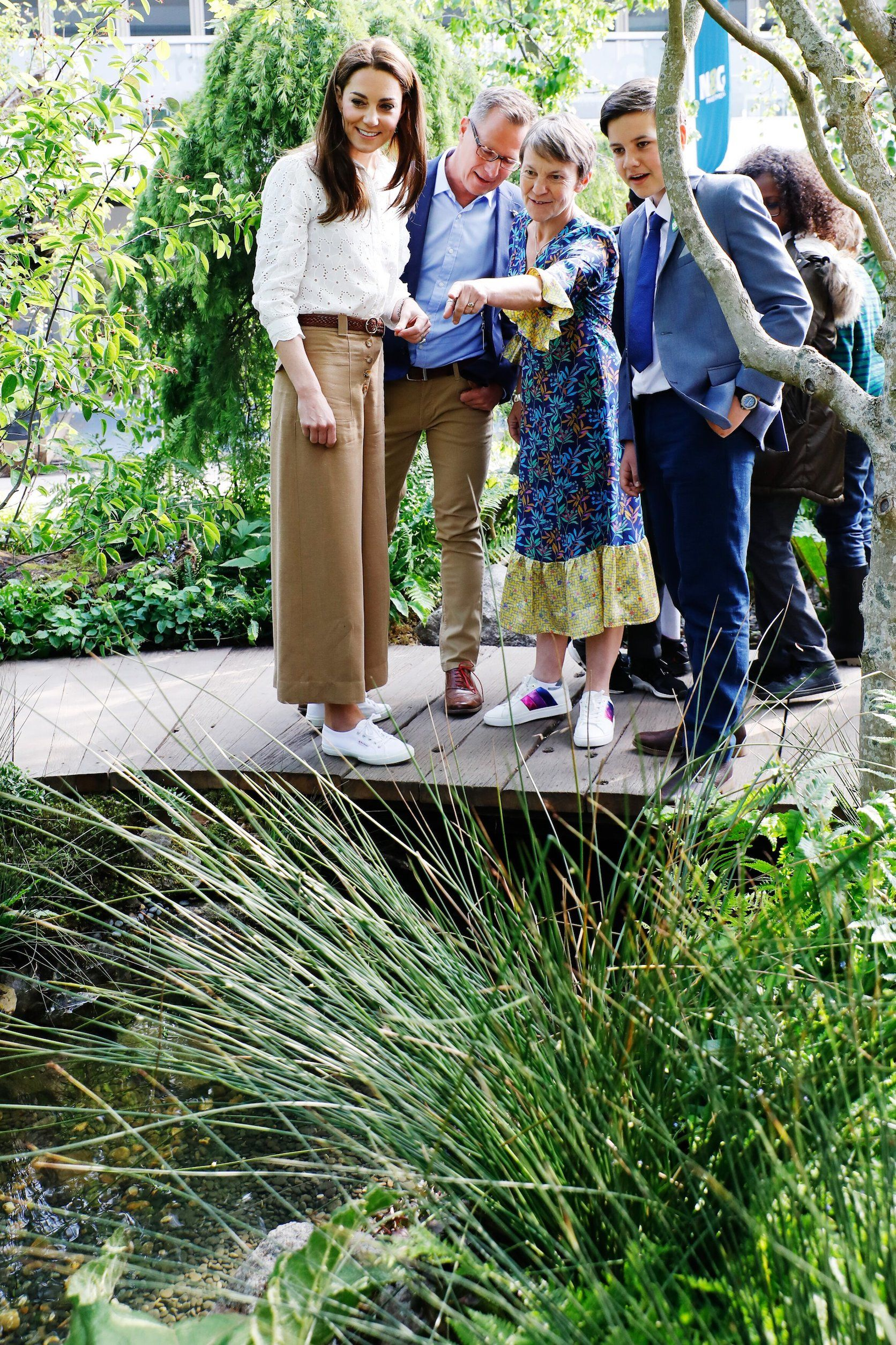 Chelsea Flower Show: Kate Middleton creates gardening activity guides for kids