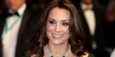 Kate Middleton didn't wear black to the BAFTAs