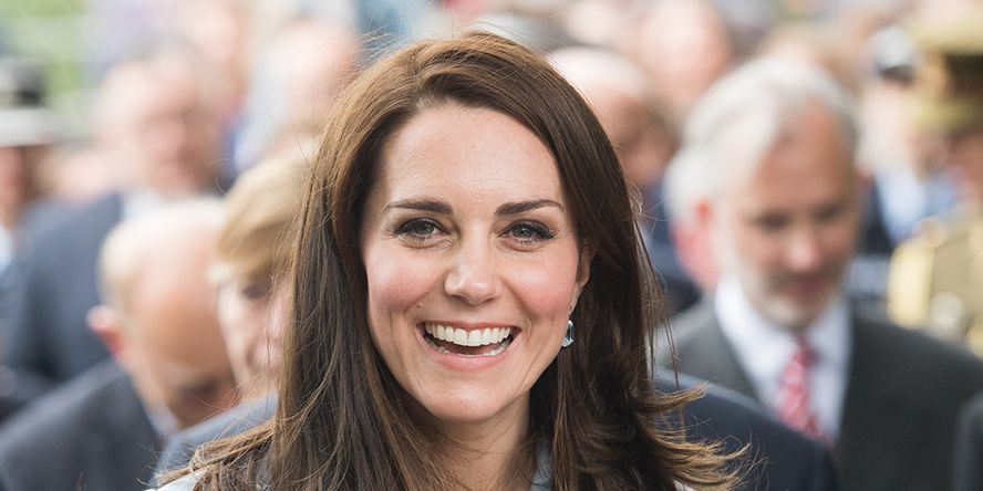 The Duchess of Cambridge wears Boden shirt dress with white trainers in new video