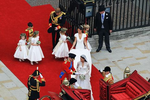 kate middleton prince william wedding day hidden meanings