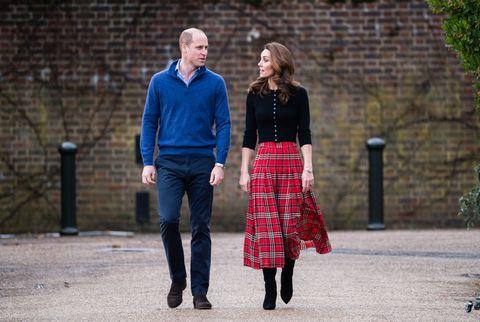 shop kate middleton's check skirt