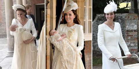 fc6eab8d25d How Kate Middleton s christening outfit for Prince Louis compares to George  and Charlotte s