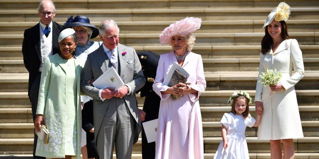 La ragione technicolor del vestito di Kate Middleton per le nozze di Meghan e Harry