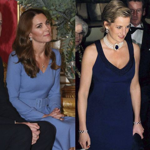 kate middleton diana twinning