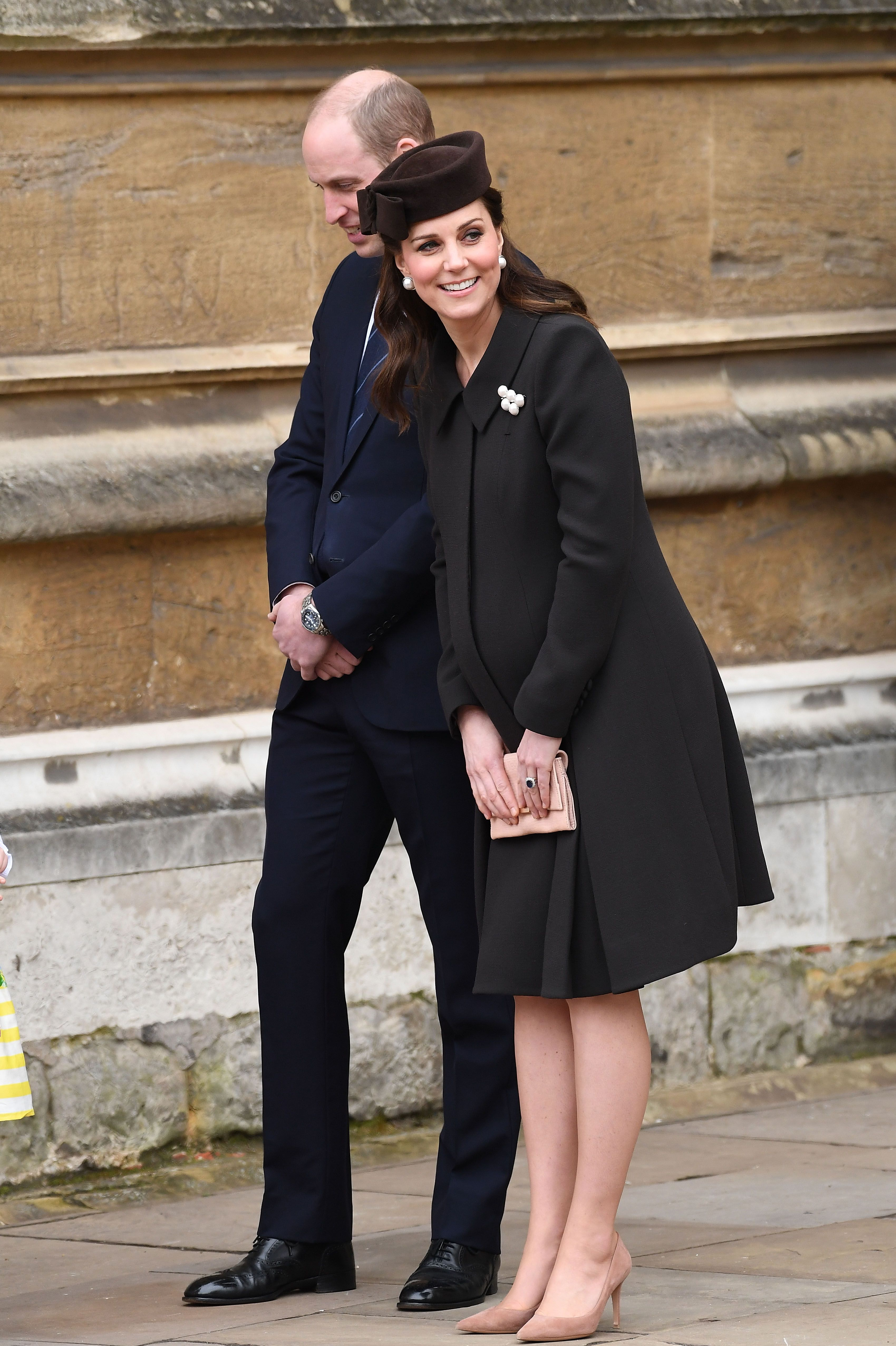 kate middleton brown easter outfit