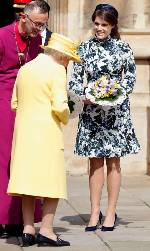 kate middleton floral erdem dresss