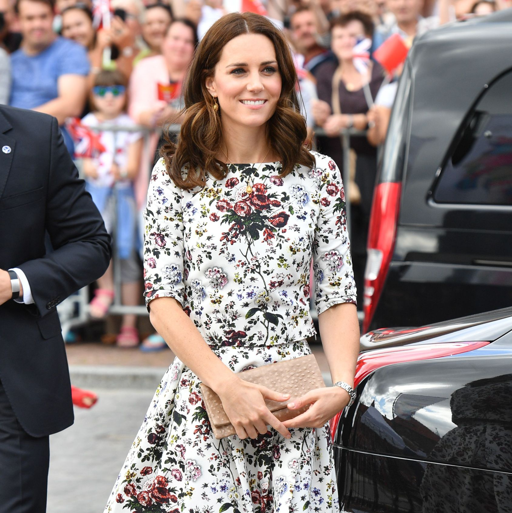 Kate Middleton wears floral dress by high street store & Other Stories