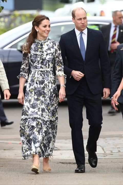 kate middleton floral dress erdem