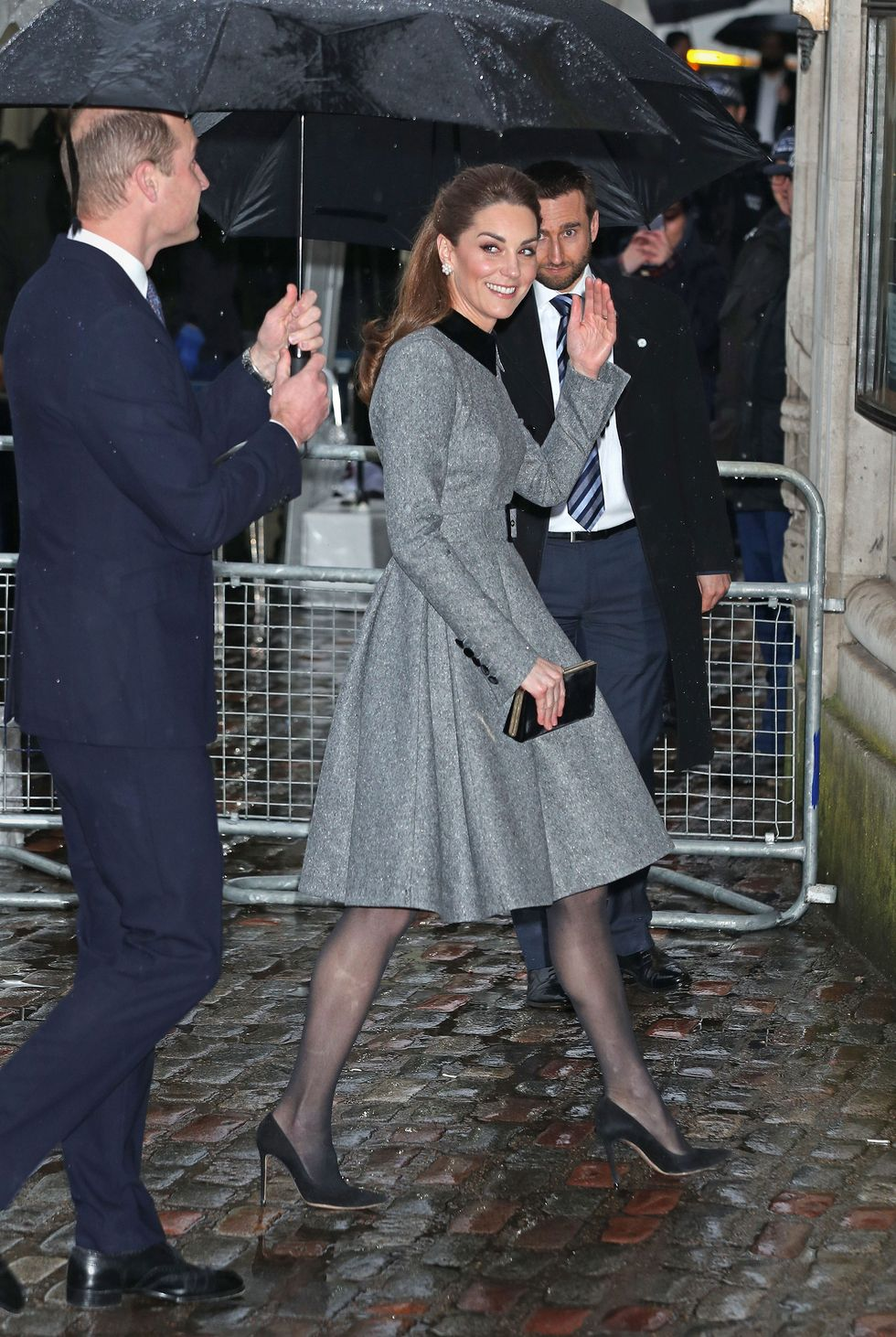 Kate Middleton Attended the UK's Holocaust Memorial Day Ceremony With Prince William