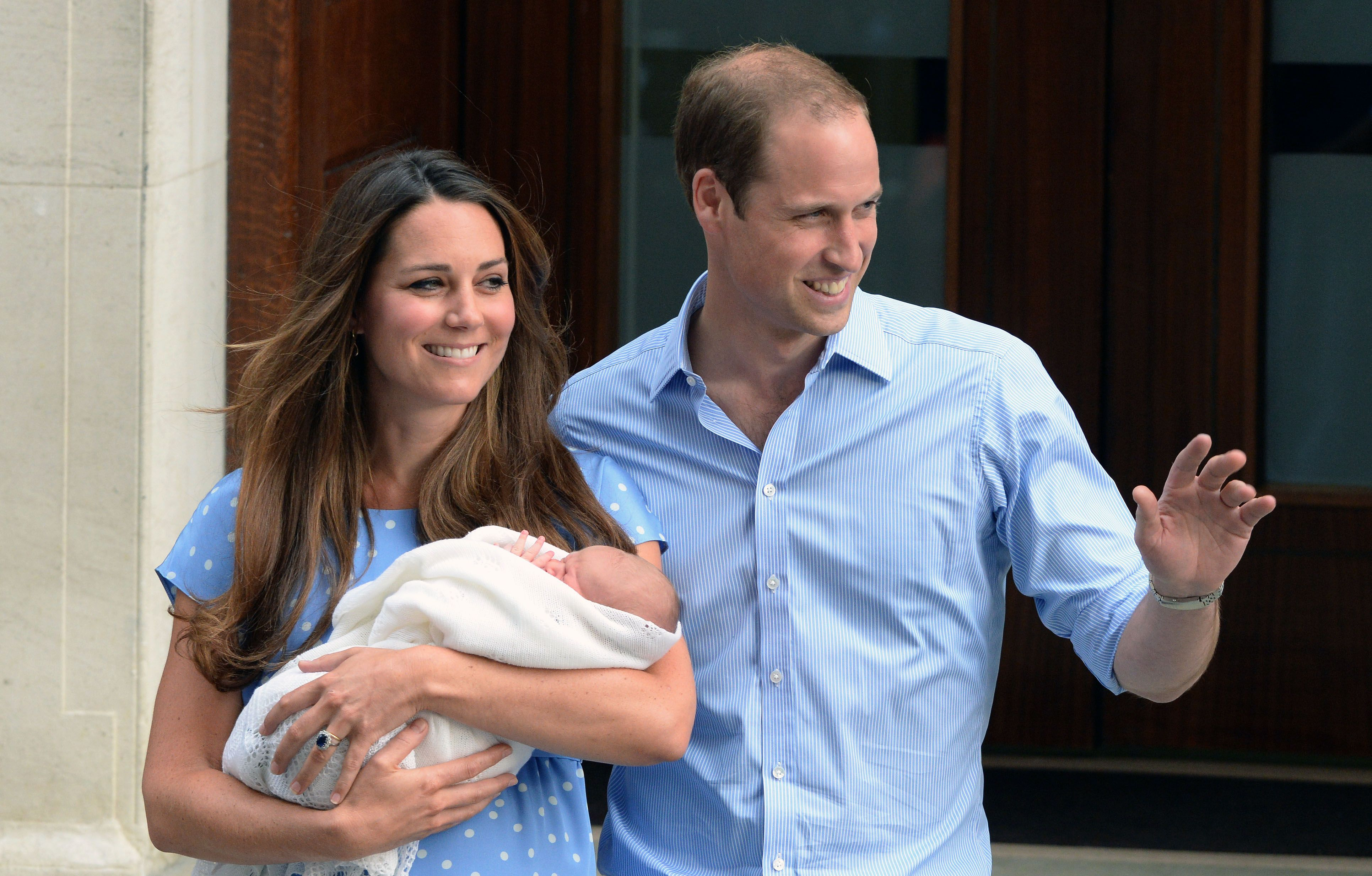 "Kate Middleton Reveals She Was Secretly ""Terrified"" During Her Post-Birth Photo Call With Prince George"