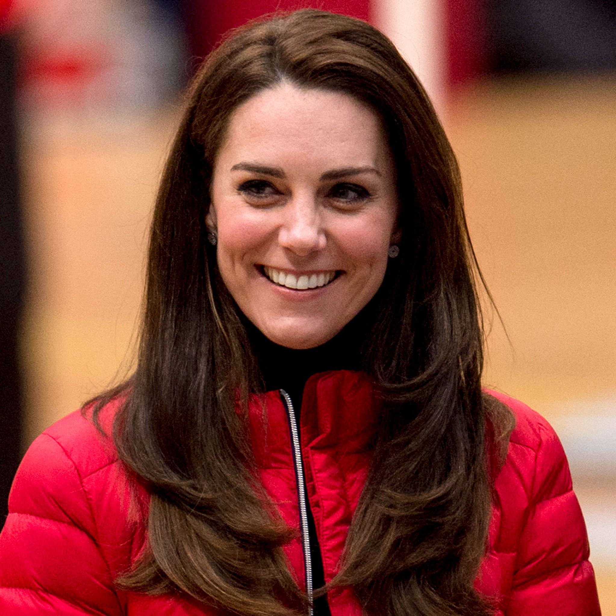 Kate Middleton and Prince Louis Went on a Valentine's Day Walk in a Public Park