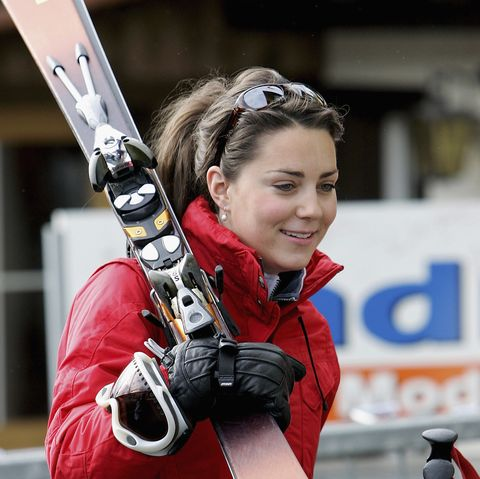 kate middleton on royal skiing holiday in klosters