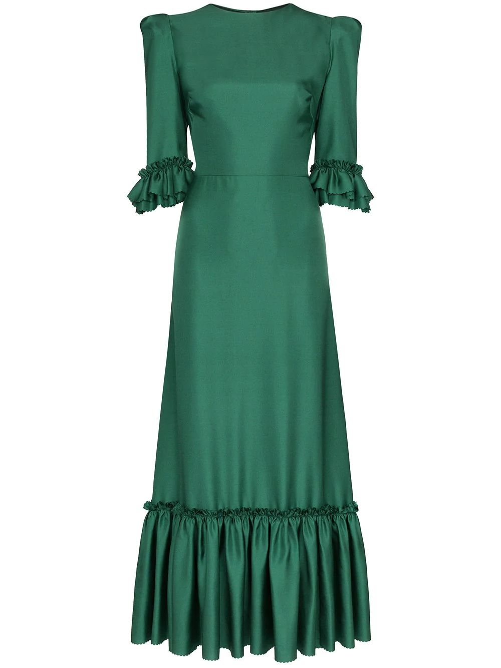 Victorian Vintage Jade DRESS IT UP Buttons Small Silver Hearts 181