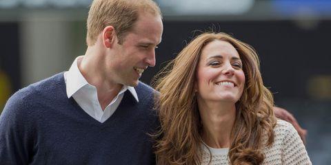 Guillermo y Kate Middleton, en una foto de archivo.