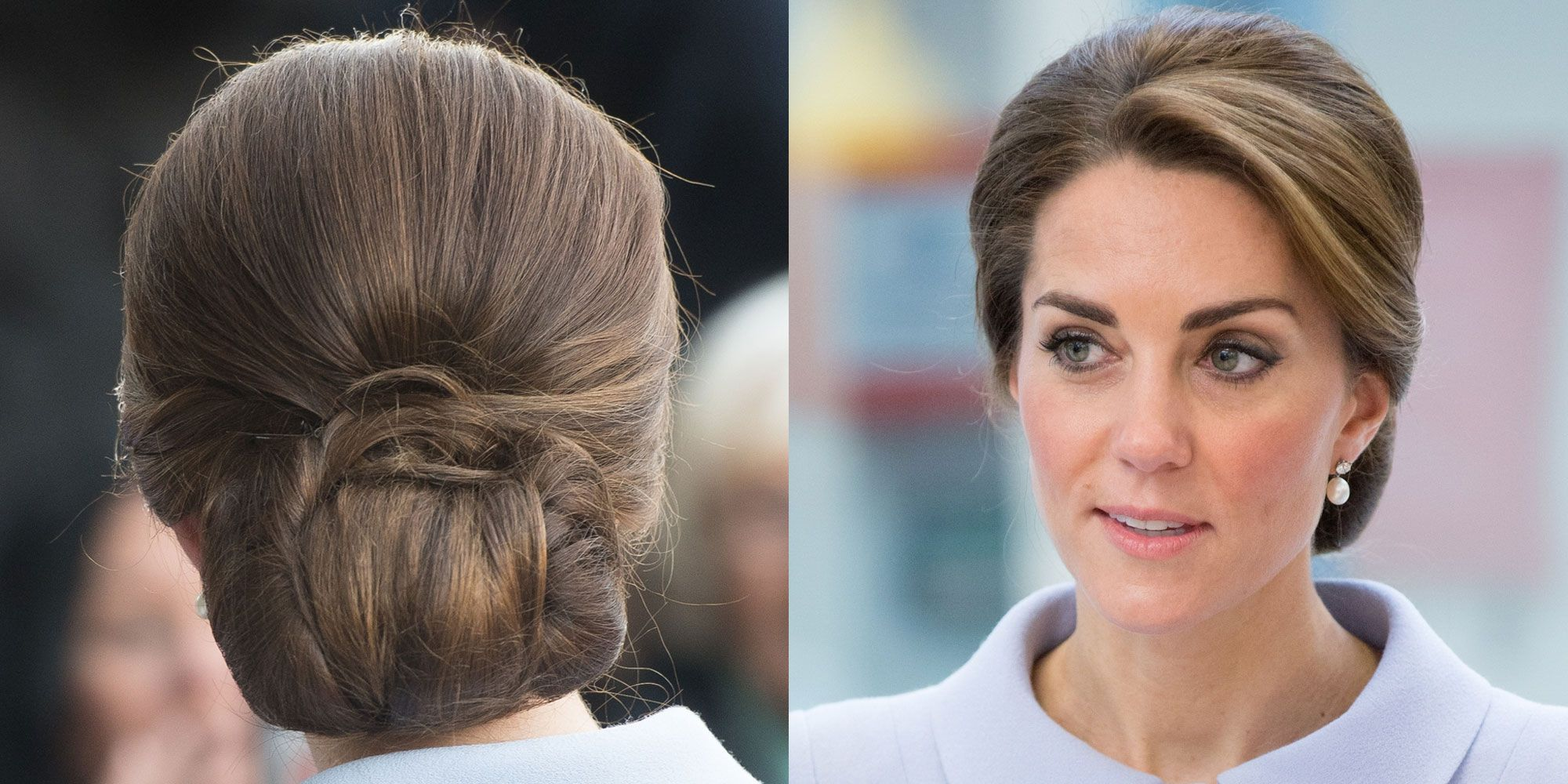 Kate Middleton Stealth Wore A Hairnet To Keep Her Hair From Unraveling