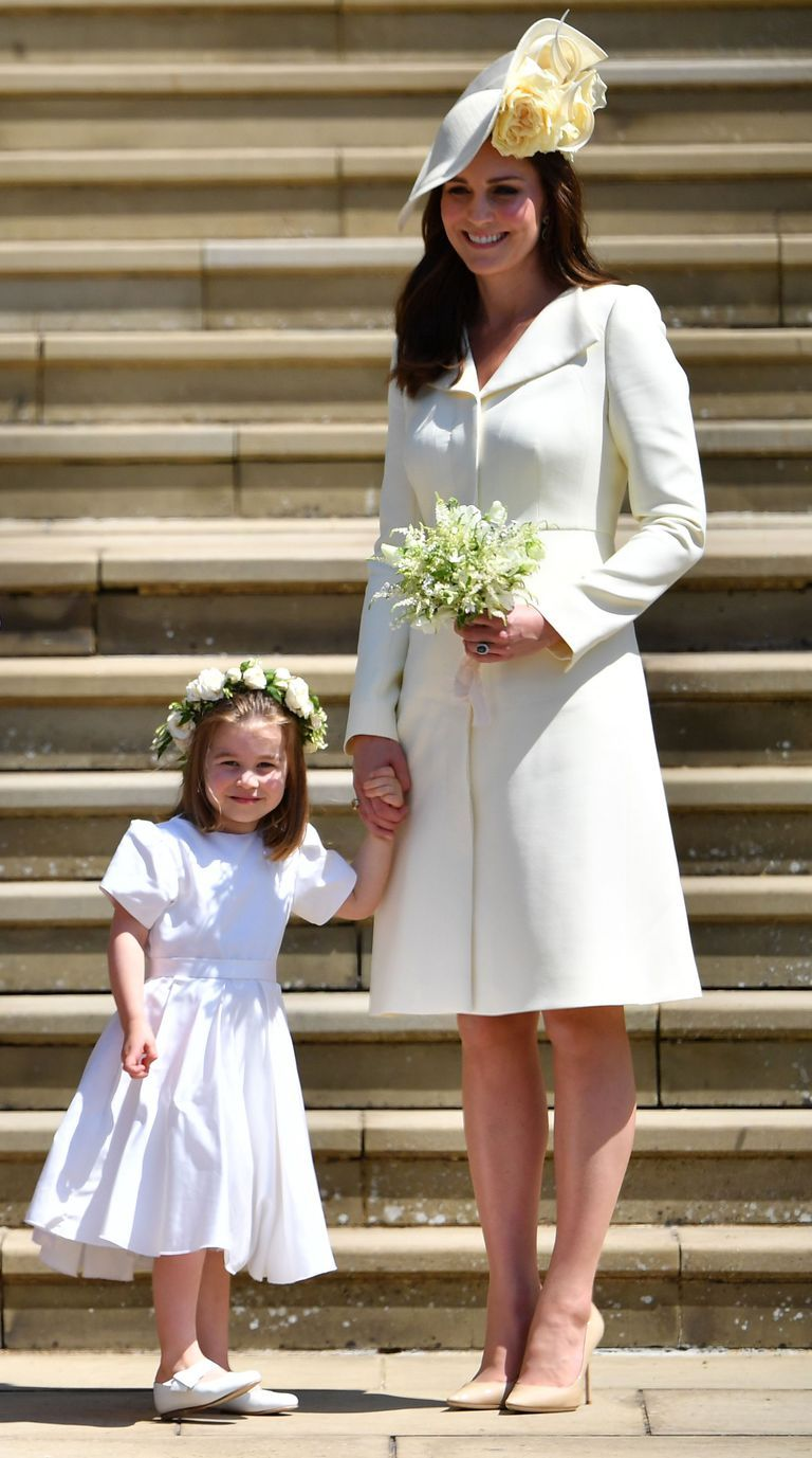 Kat eMiddleton at the Royal wedding 2018