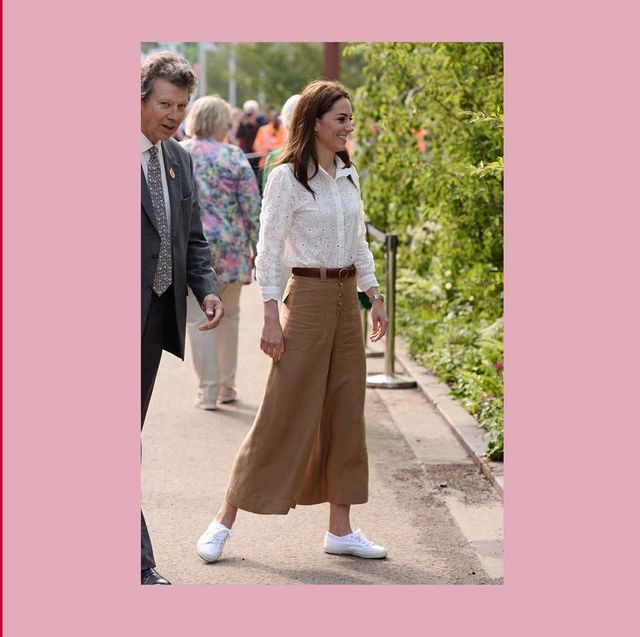 94453c82cf3 kate middleton brown culottes. The Duchess of Cambridge ...