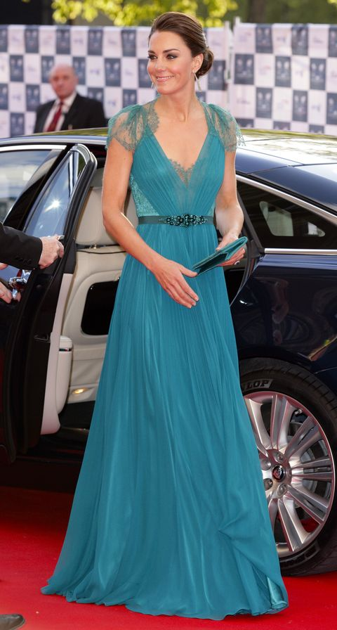 745c37f3bac Kate Middleton just re-wore a six-year-old Jenny Packham dress to ...