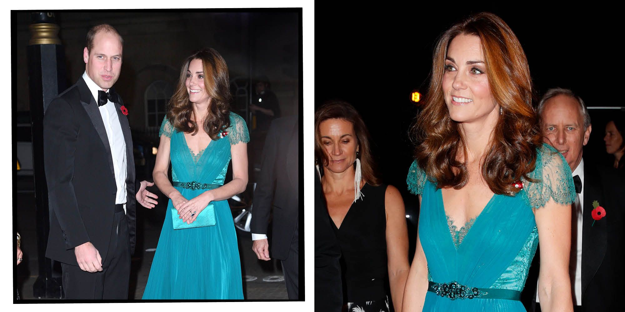 f7bad3871cc Kate Middleton Wears Stunning Jenny Packham Gown And Yes