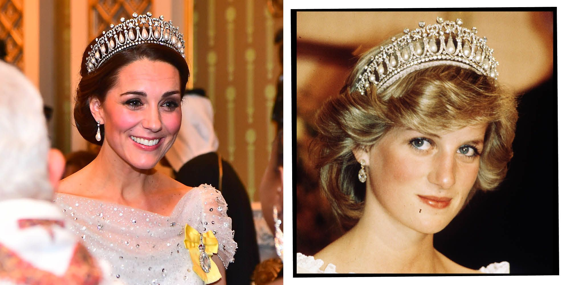 Kate Middleton Wore Princess Diana's Tiara Last Night In A Touching Tribute