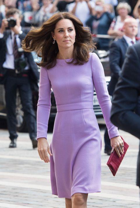Kate Middleton purple dress