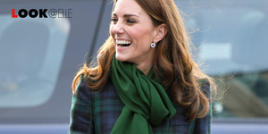 kate middleton look vestito a quadri 2019