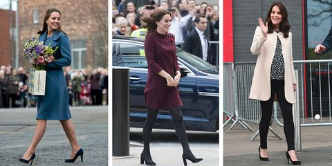 9fe87628a24 50 Best Kate Middleton Pregnant Style Looks - Princess Kate ...