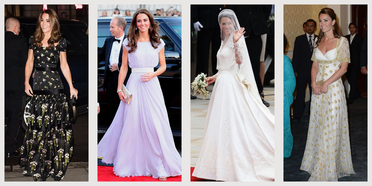20 Times Kate Middleton Dressed Up in Alexander McQueen