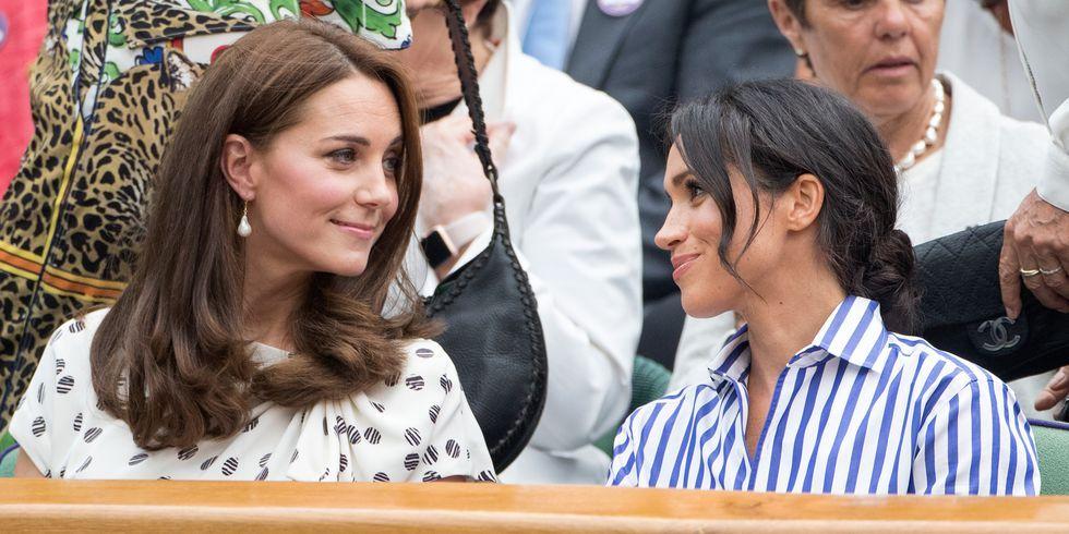 Kate Middleton en Meghan Markle
