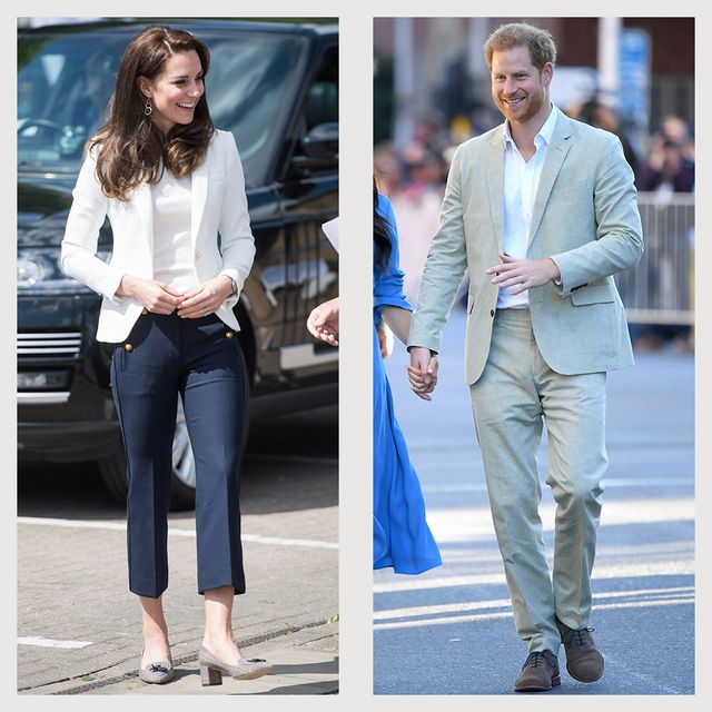 prince harry meghan markle kate middleton jcrew fashion