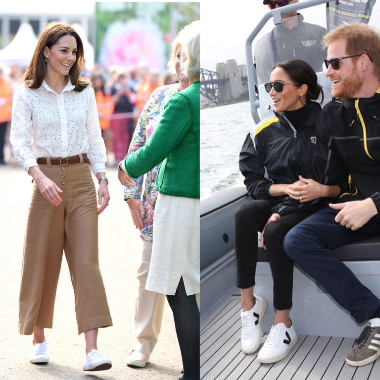 Kate Middleton and Meghan Markle's Favorite Sneakers Are 40% Off